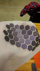 3D tisk na textil, přizpůsobivá strktura