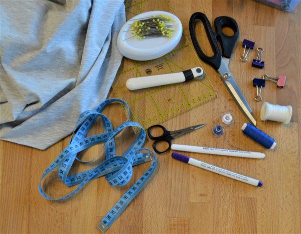 kurz šití - základní šicí pomůcky