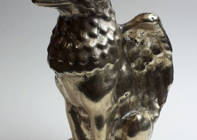 Statuette brass without patina