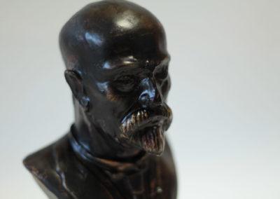 Bronz socha detail