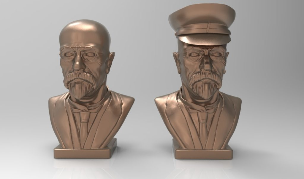 3D model of Masaryk