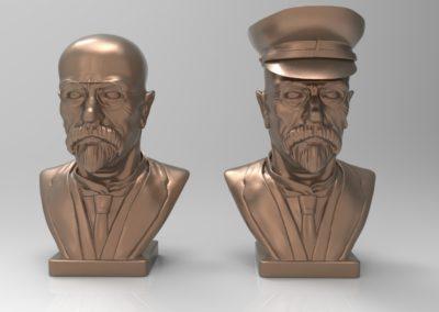 Masaryk 3D model