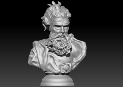Neptun 3D model