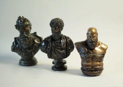 Odlévání bronzu - sošky