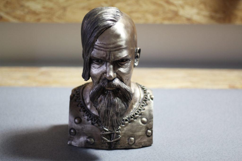 Bronze bust of Halfdan