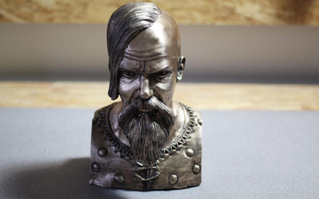 Výroba bronzové busty – Viking Halfdan