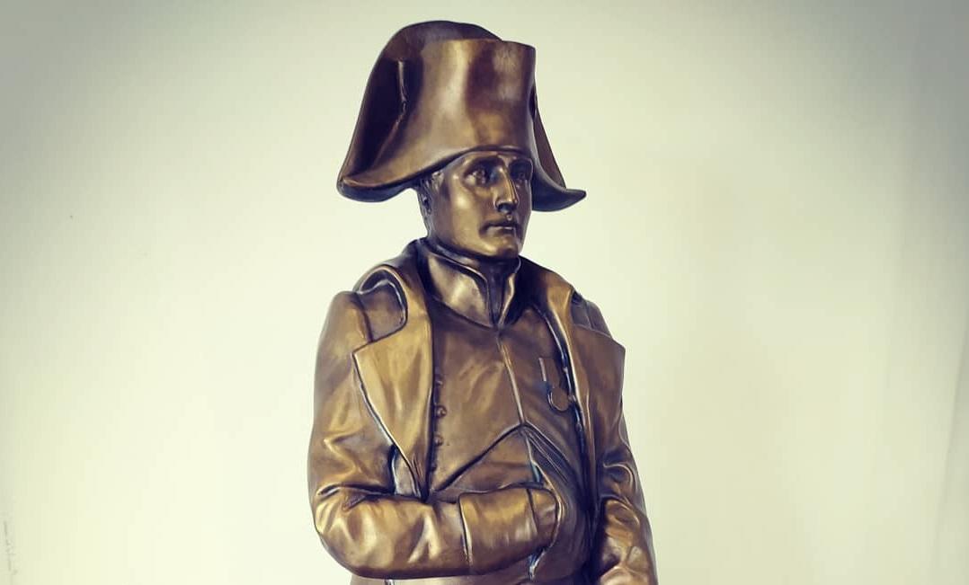 Menší socha – Napoleon Bonaparte