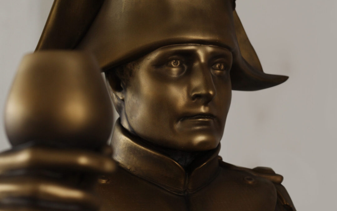 Socha s bronzovou patinou – Napoleon Bonaparte